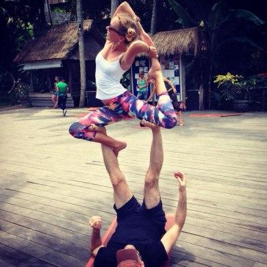 Bali, Yoga barn, 2014