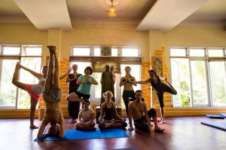 Bali, Vinyasa workshop, Mitchi retreat, 2014